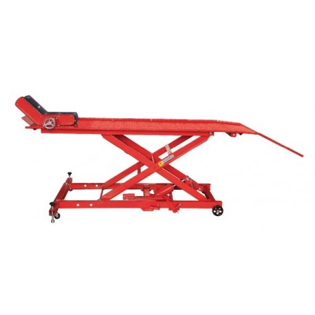 Table élévatrice moto 450 KG hydraulique, table moto largeur 66cm